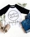 Bella Canvas Black White Raglan Shirt Mockup 3200 Gender Etsy