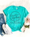 Bella Canvas Teal Shirt Mockup 3001 Stylish Feminine Shirt Etsy