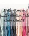 Bella Canvas Popular Heather Colors 3001 Knotted T Shirts Etsy