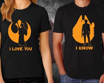 """Download Items similar to Star Wars """"I Love You. I Know"""" - 8x10 ..."""