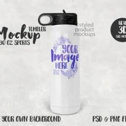 Bottle Mockup Etsy