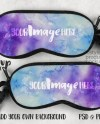 Dye Sublimation Eyeglass Case Mockup Template Add Your Own Etsy