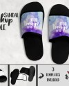 Dye Sublimation Sandals Mockup Template Add Your Own Image Etsy