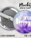 Button Shoelace Charm Mockup Template Shoelace Button Mockup Etsy