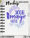 Spiral Notebook Mockup Set Textbook Mockup Bundle College Etsy