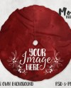Christmas Tree Skirt Mockup Template Add Your Own Image And Etsy