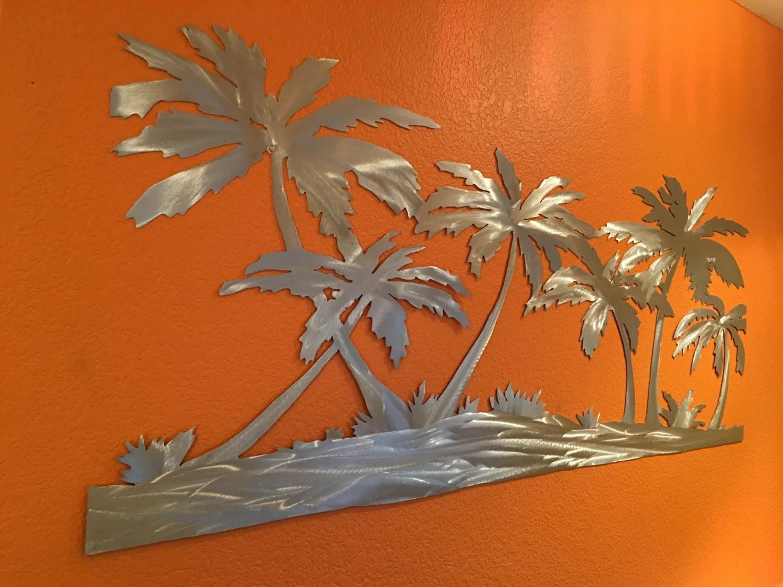 title   Coastal Metal Wall Decor