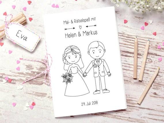 Hochzeitsmalbuch PDF Lovely Malbuch Hochzeit
