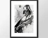 Star Wars Art - Series 1 - Darth Vader Boys Geek man cave nerds bedroom office kids