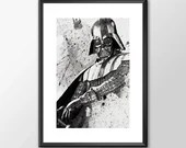 Star Wars Art - Series 1 - Darth Vader Boys Geek man cave nerds bedroom office kids