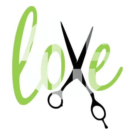 Download Love with hair cutting scissors svg dxf jpg pdf Vector ...