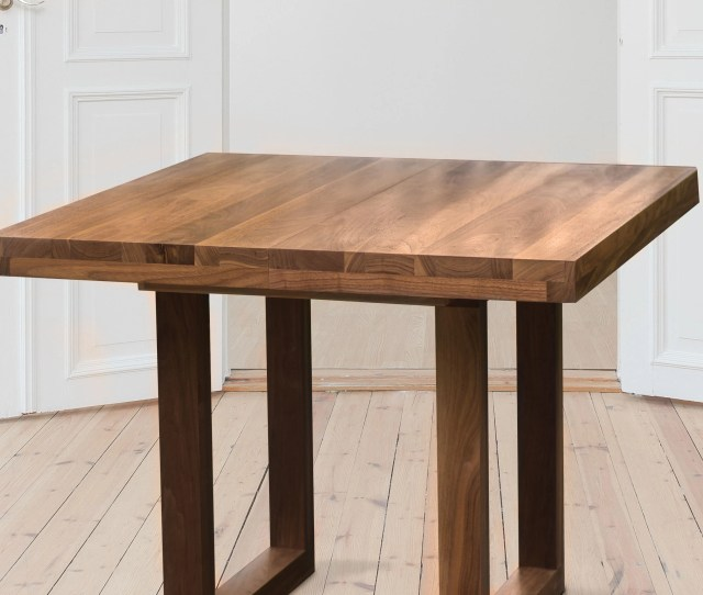 Extendable Dining Table Wood Walnut Dining Table Extendable To 70 Inches Expandable Table With Leaf Rectangular Wood Dining Table