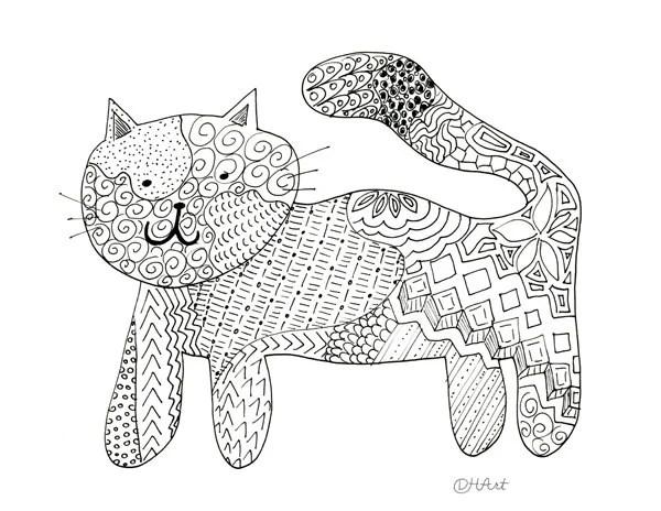 cat color page # 19