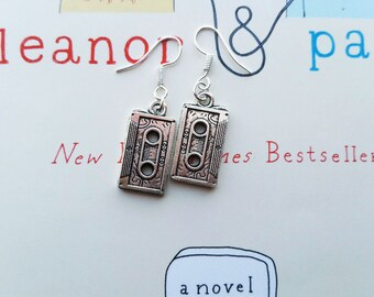 Eleanor and Park Cassette Earrings