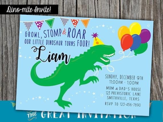 invitation dinosaure dino anniversaire invite dino invitation invitation anniversaire fete d anniversaire dinosaure dinosaure invite