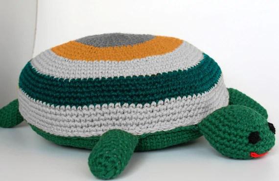 round crochet turtle pillow round pillow baby pillow kids room nursery decor baby cushion