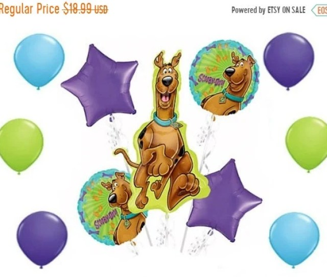 On Sale  Pc Large Scooby Doo Birthday Party Balloon Set