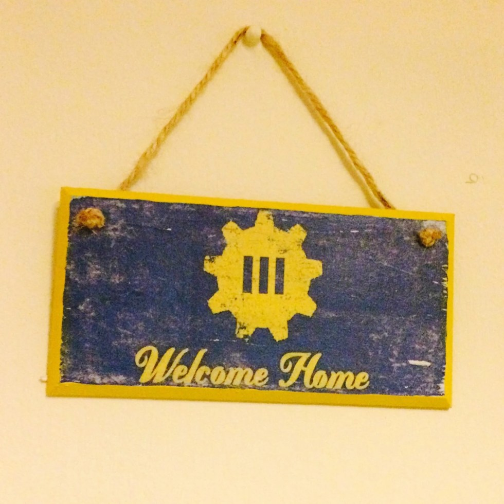 Welcome Home ~ gaming wal...