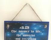 Douglas Adams inspired ~ ...