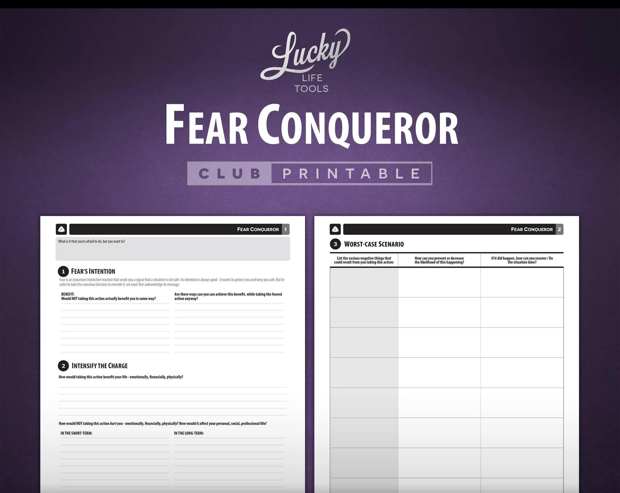Fear Conqueror