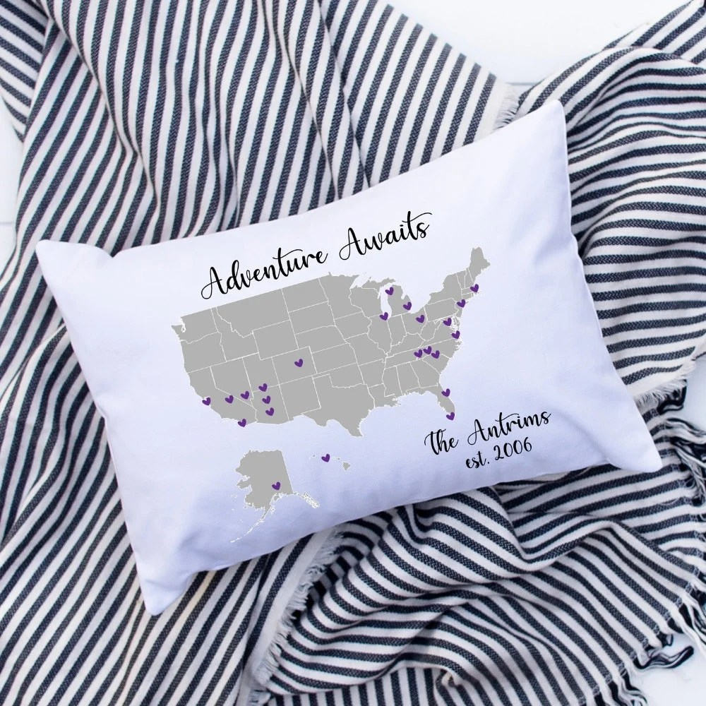 state your love design wholesale pillow cover blanks and personalized gifts