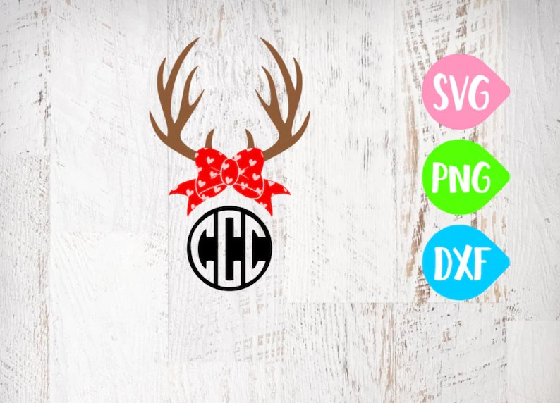Download Valentine's Antlers Svg All You Need Is Love SVG Love   Etsy