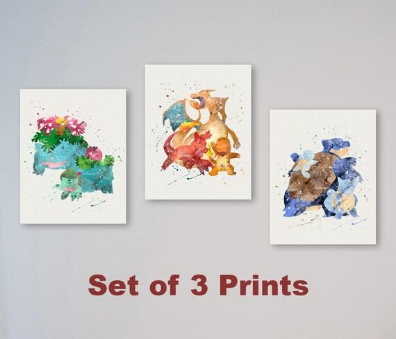 Pokemon Prints
