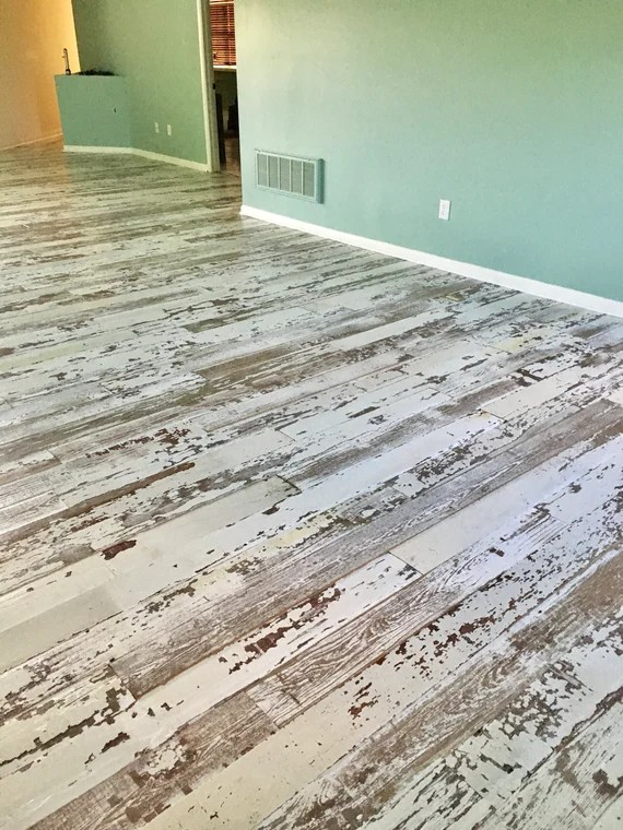 Original Face White Washed Barn Flooring Etsy