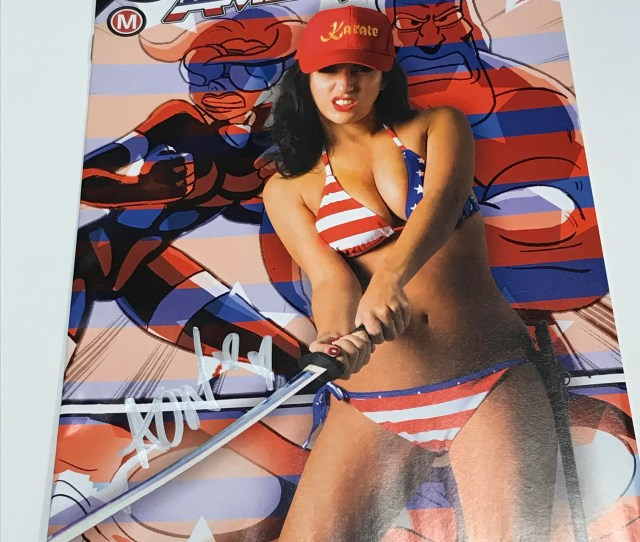 Amerikarate Issue 4 Limited Edition April Oneil Photo Cover Woodrocket