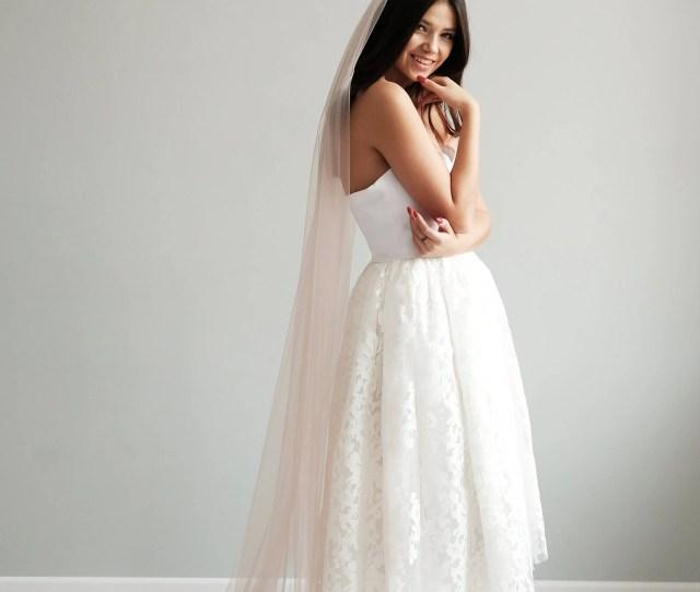 Blush Wedding Veil Bridal Veil Pink Veil Wedding Veil Veil Wedding Veil Bridal Champagne Veil
