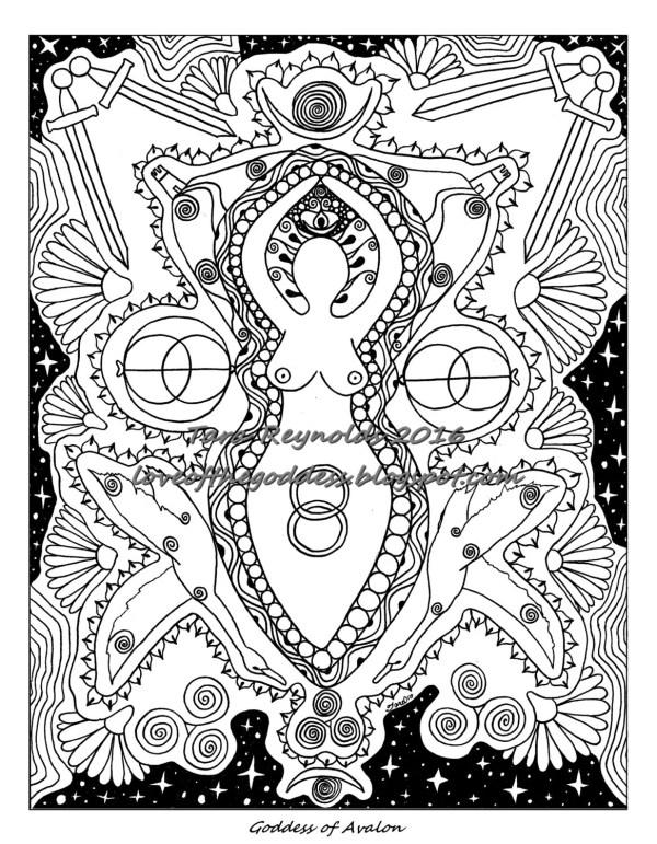 pagan coloring pages # 7