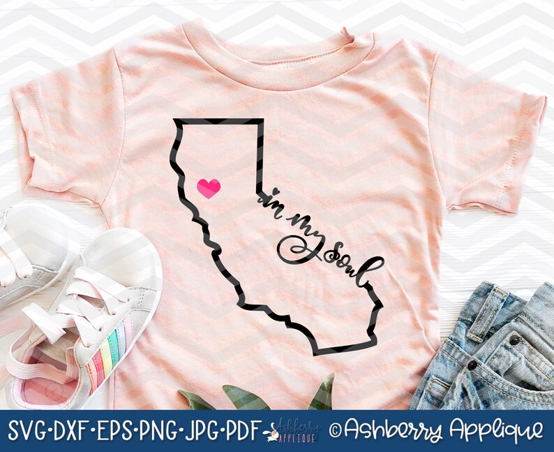 Download California Outline Love/Native/In My Soul SVG/DXF Cut File ...