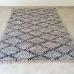 Beautiful Beni Ourain Rug Handmade 100 Natural Wool 10 2