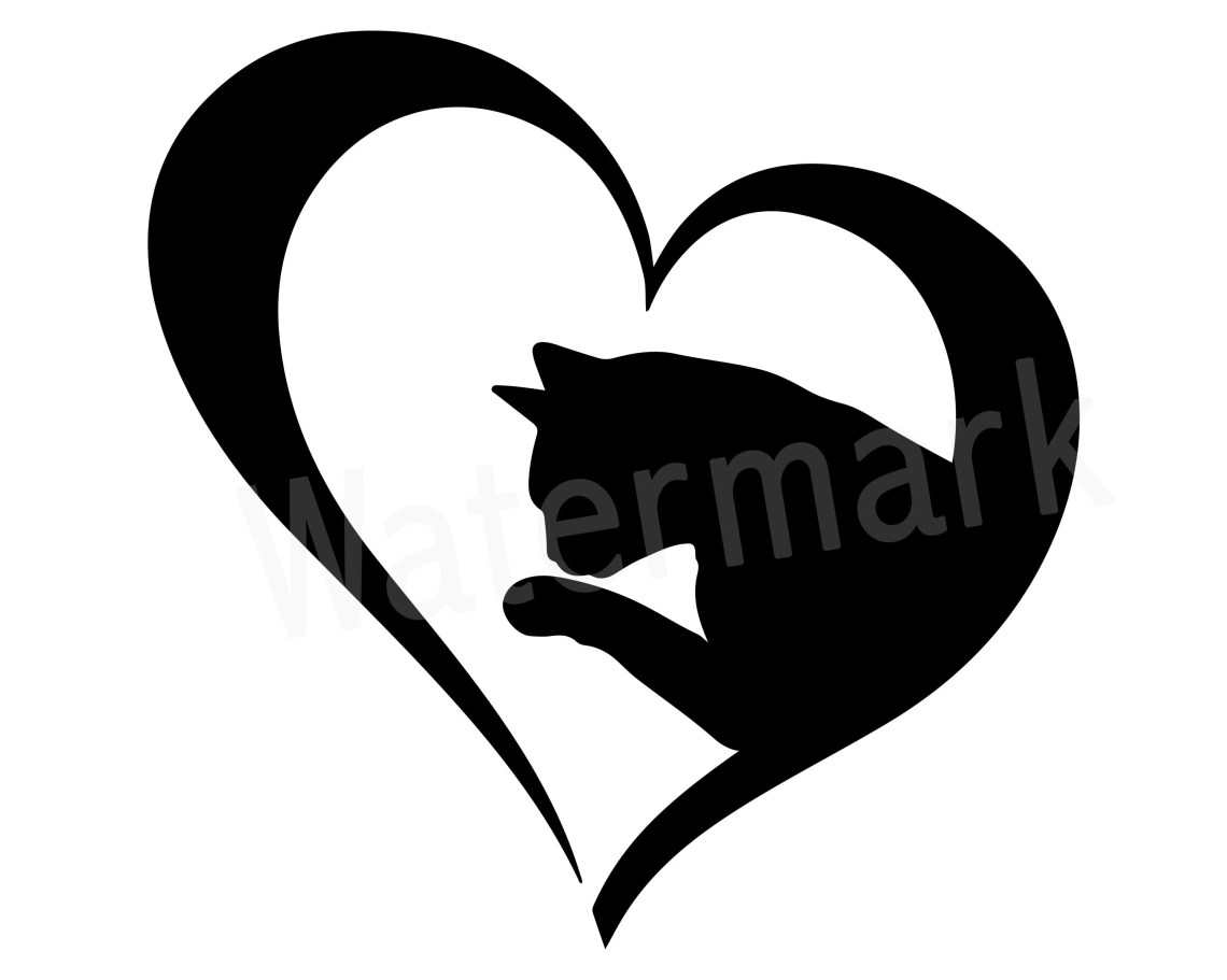 Download Cat Lover SVG Clipart Love Cats Cat Mom SVG Fur Mom Cat   Etsy
