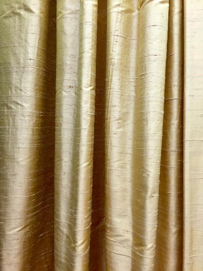 silk window treatments silk curtain