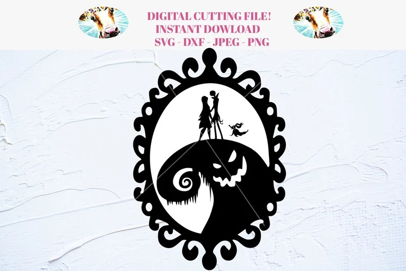 Download Nightmare Before Christmas SVG for Cricut and Silhouette ...