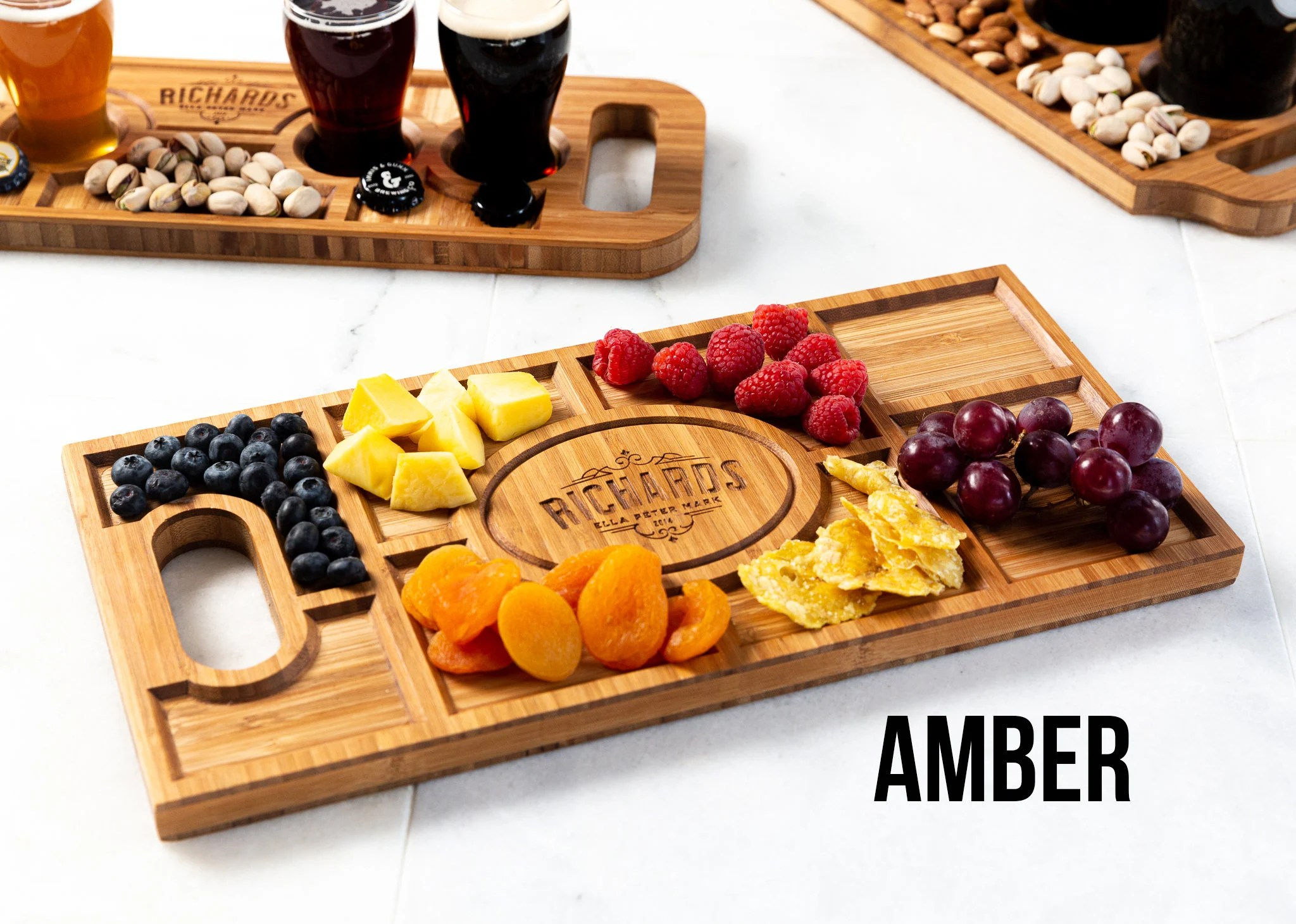 Personalized Charcuterie Planks and Beer Flights  4 Styles image 6