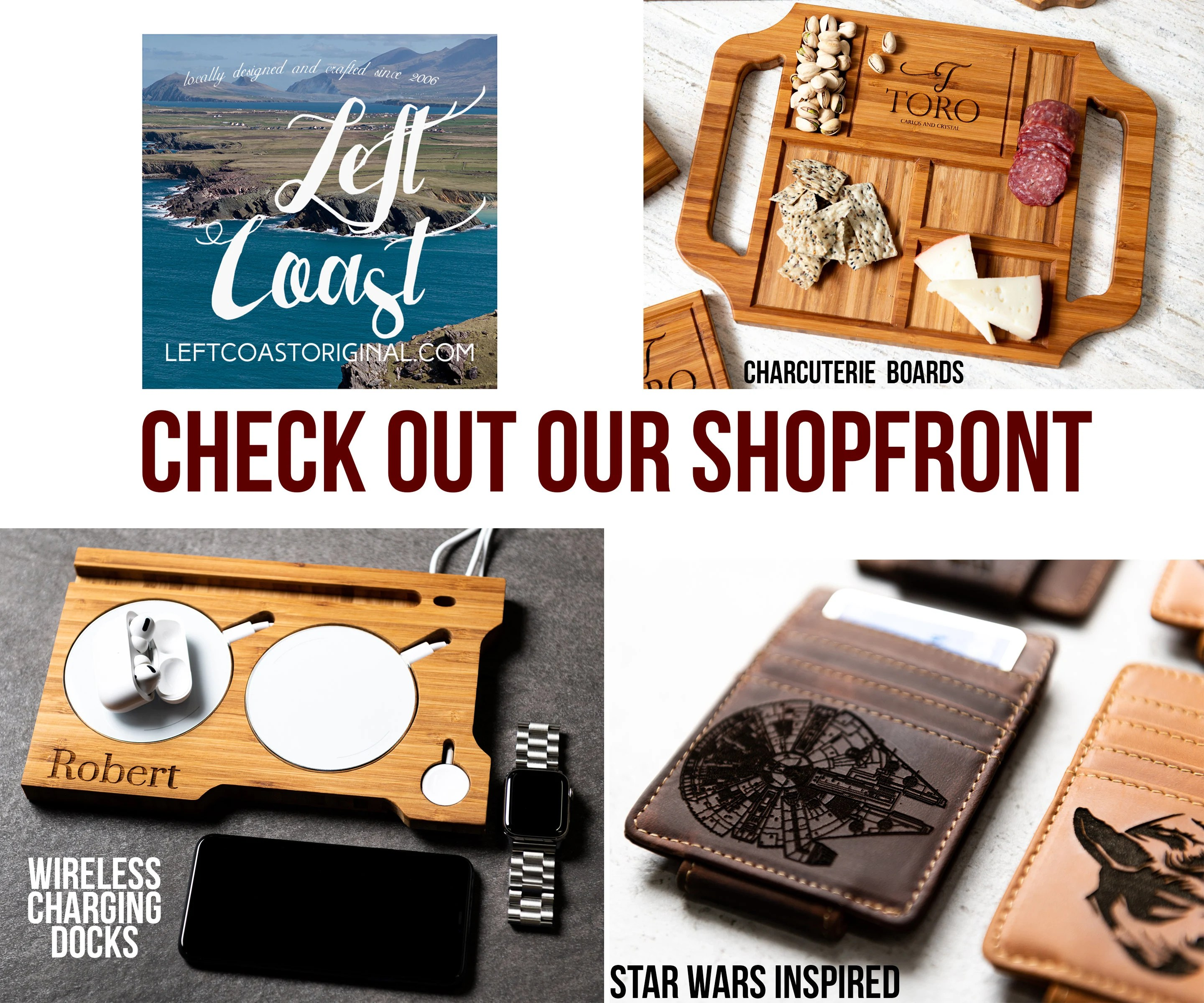 Personalized Charcuterie Planks and Beer Flights  4 Styles image 9