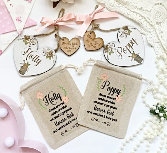 Will you be our flower girl gift