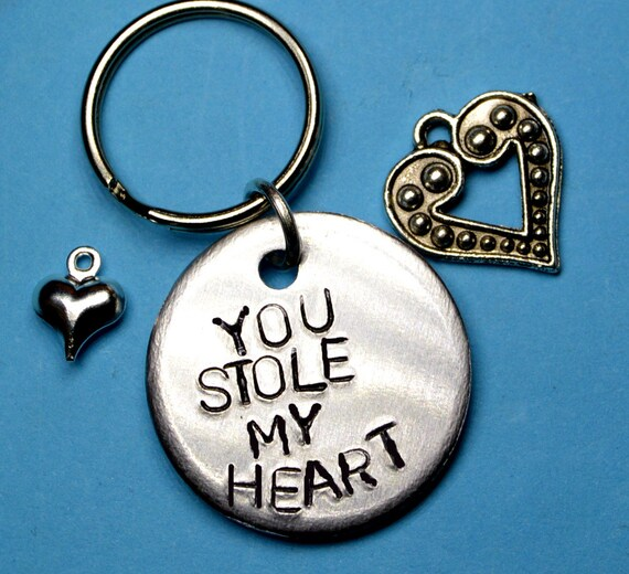 You Stole My Heart Keyring