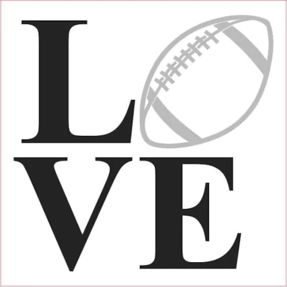 Download Football love SVG Love football svg footnall svg png jpg ...