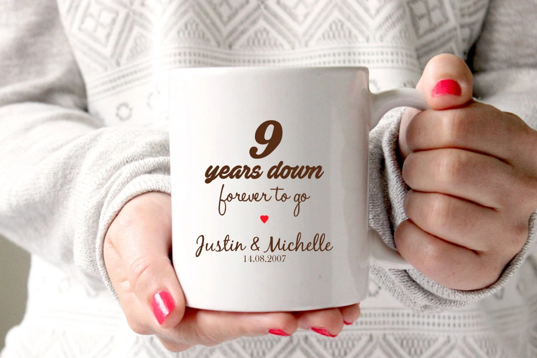 9th Anniversary Gift 9th Wedding Anniversary 9th