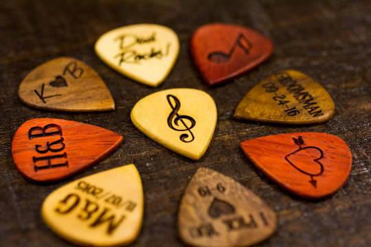Free Shipping Personalized Guitar Picks Custom Guitar Pick image 1