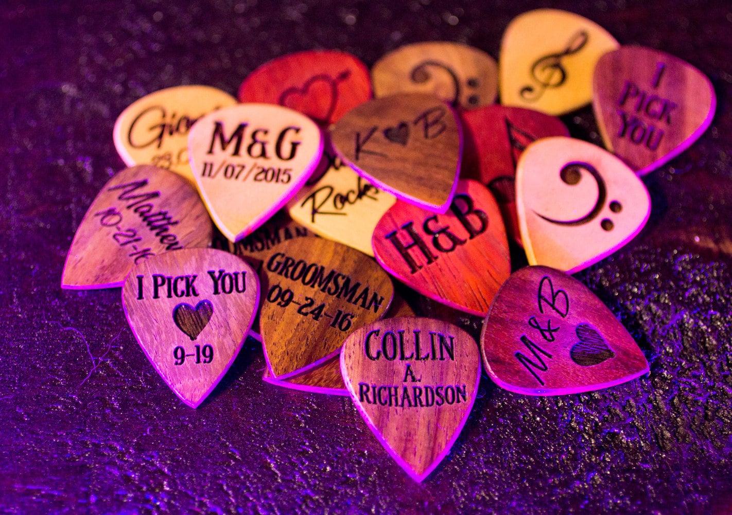Free Shipping Personalized Guitar Picks Custom Guitar Pick image 4