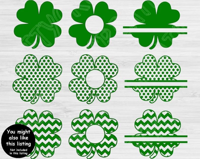 Download St Patricks Day Svg Love Shamrock Svg. Irish Svg St Pattys ...