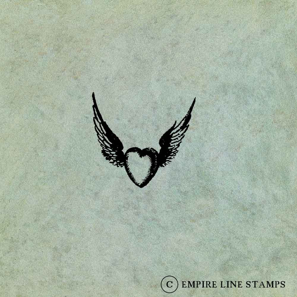 Winged Flying Heart SMALL...
