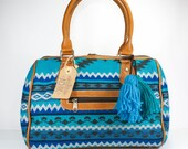 Aqua blue doctor bag, Aqu...