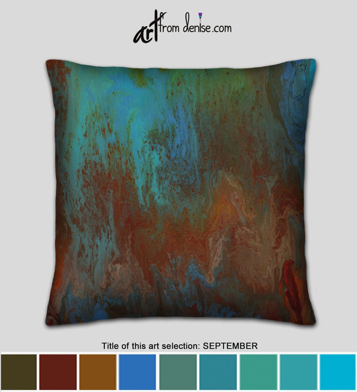red and turquoise throw pillows online