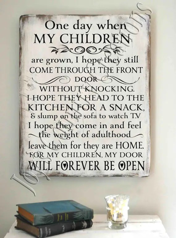 Download One day when my Children are grown SVG PNG JPEG | Etsy