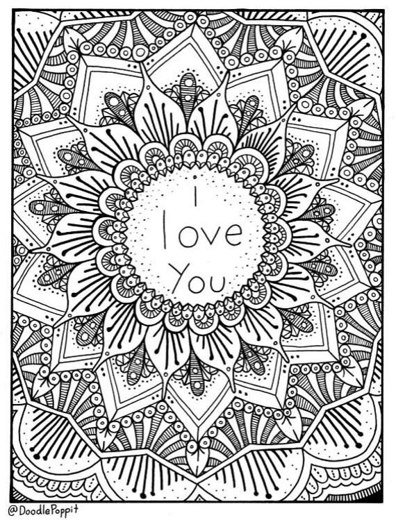 i love you coloring page coloring book pages printable
